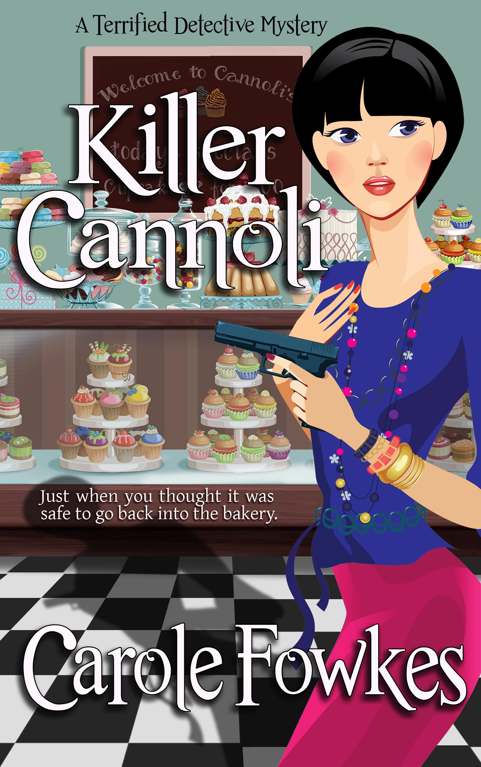 Killer Cannoli, a cozy mystery