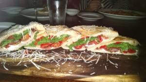 Carole Fowkes' Italian sandwich