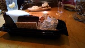 Carole Fowkes' cheesecake